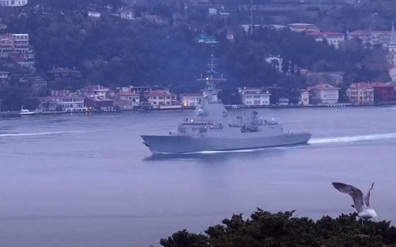 «Силы и средства ЧФ РФ приступили к слежению»: В Чёрное море вошёл ракетный фрегат ВМС Испании