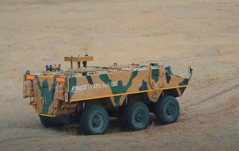 トルコは新しいParsİzci装甲兵員輸送車の生産を開始します