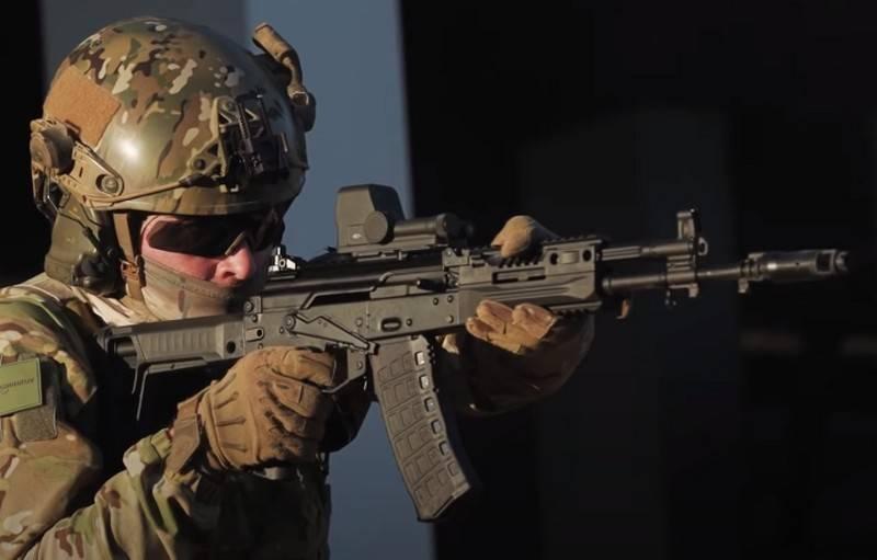 Le suddivisioni del distretto militare orientale saranno riarmate con un nuovo fucile d'assalto AK-12
