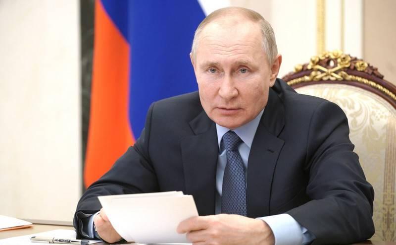 """""""Freitag oder Montag"""": Putin lud Biden ein, die Diskussion live fortzusetzen"""