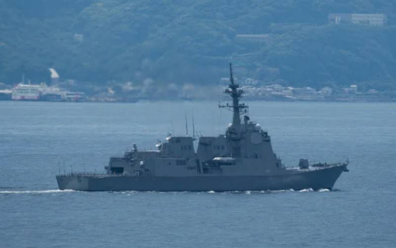 """""""Integrated into the US missile defense system"""": the Japanese Navy has been replenished with a new missile defense destroyer """"Haguro"""""""