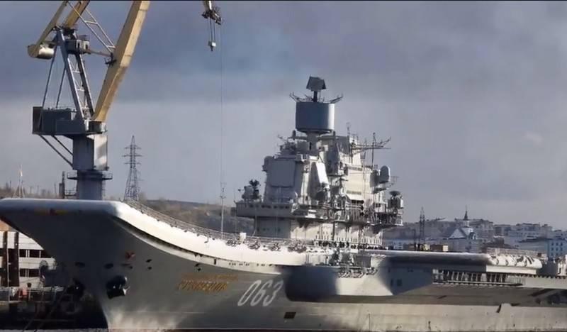 """""""Medida preventiva - arresto"""": el director general de 10 SRZ fue detenido por malversación de fondos durante la reparación del portaaviones """"Almirante Kuznetsov"""""""