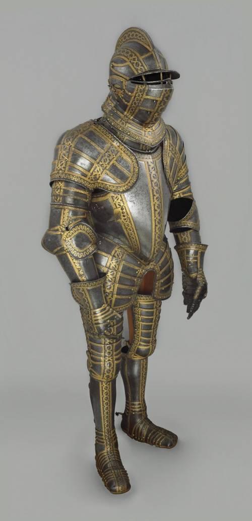 Armadura de Sir Thomas Sackville de la colección Wallace