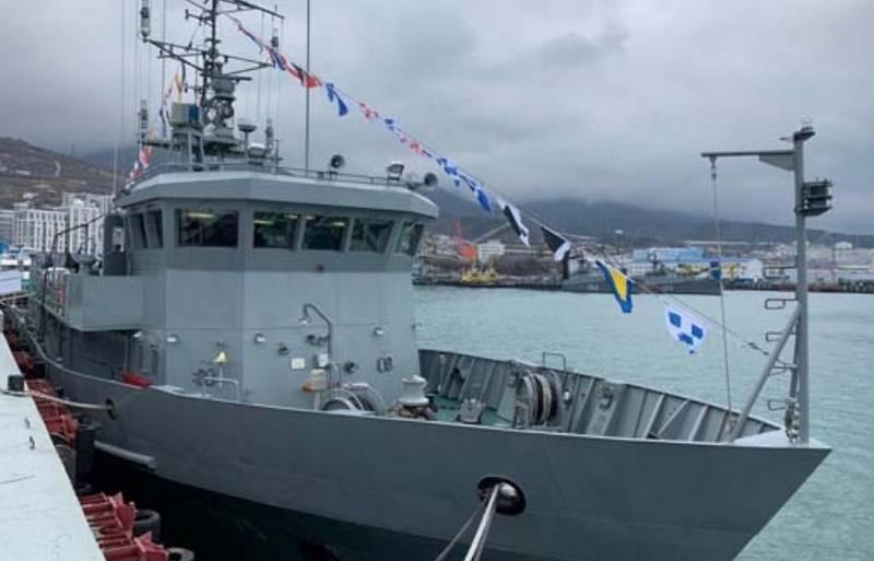 Das führende Torpedoboot TL-2195 des Projekts 1388N3T trat in die Schwarzmeerflotte ein