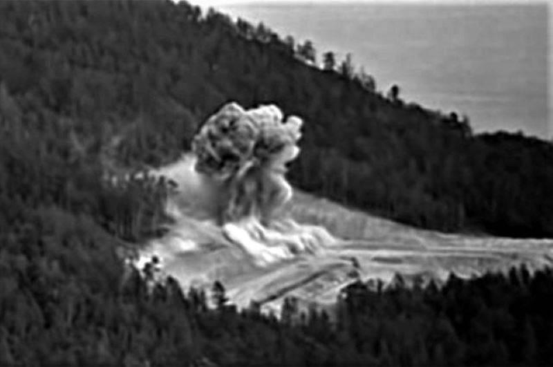 核故障。 西伯利亚河流如何不进入里海