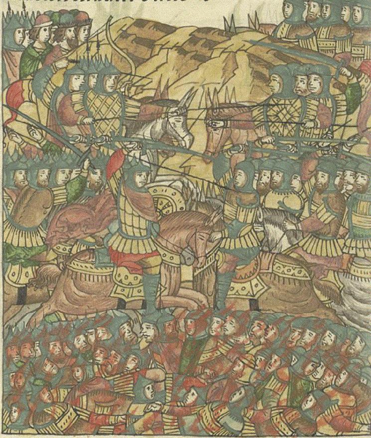 Il luogo della battaglia di Rakovor