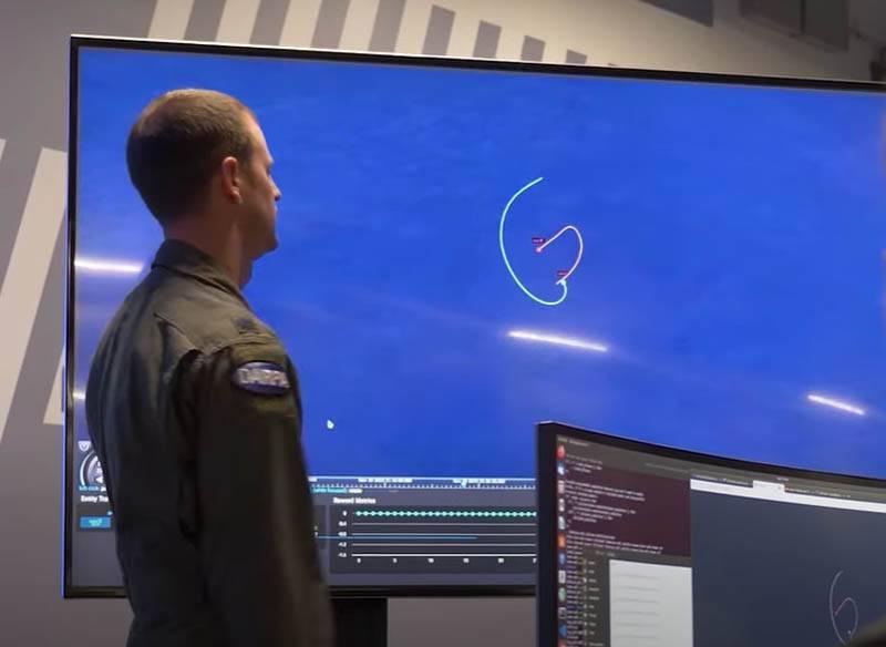 美国的虚拟空战:具有人工智能的战斗机击败了真正的飞行员5-0