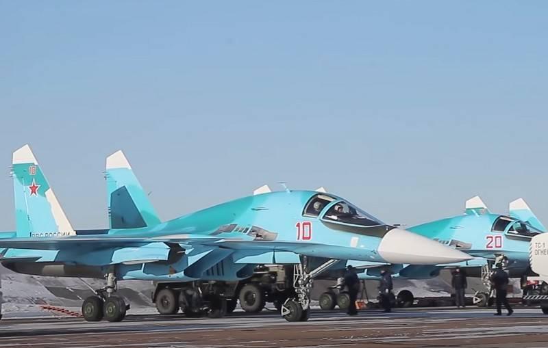 Su-34 e Su-35 irão para o Ártico: o Ministério da Defesa pretende testar aeronaves no Ártico