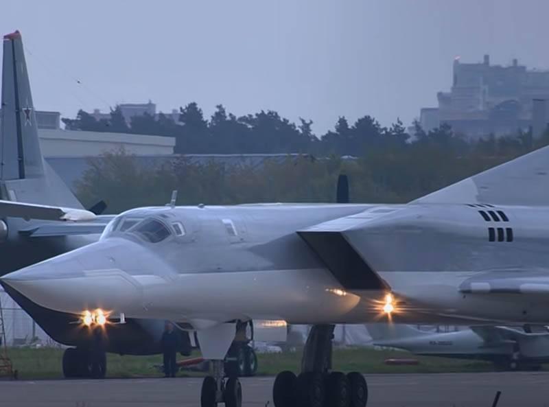 Es gibt Informationen über die Rettung eines Besatzungsmitglieds des Raketenträgers Tu-22