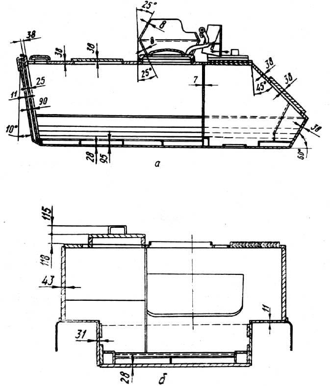 Veículo blindado de transporte de pessoal M113: testes em Kubinka e comparação com BMP-1