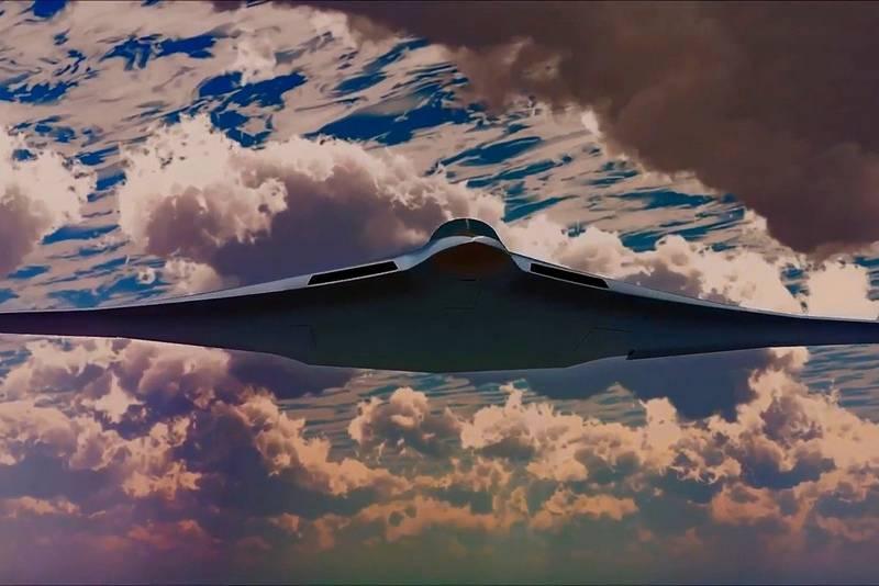 有望な爆撃機PAKDAは、レーダーの高度なステルス性を確認しました