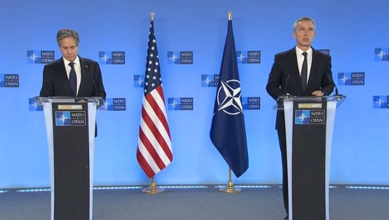 """""""Am Brüsseler Flughafen als Retter empfangen"""": US-Außenminister Blinken wurde in der norwegischen Presse als """"neuer Superstar der NATO"""" bezeichnet"""