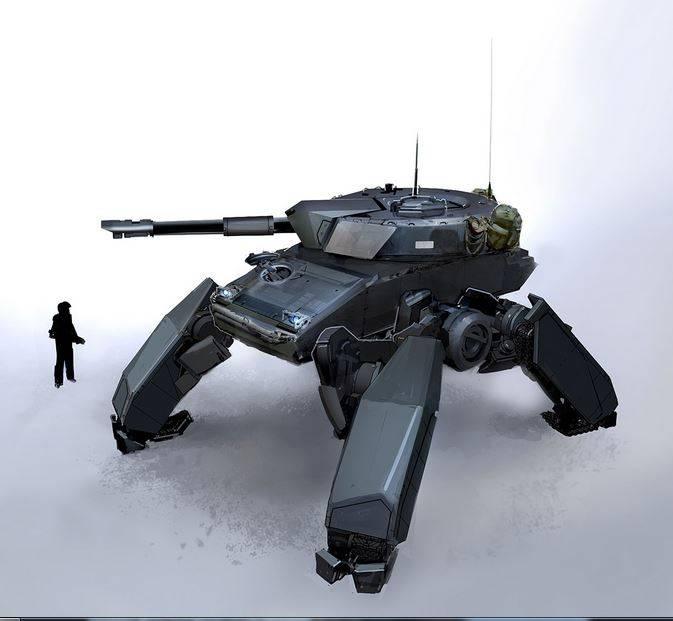 Sur le concept du tank du futur