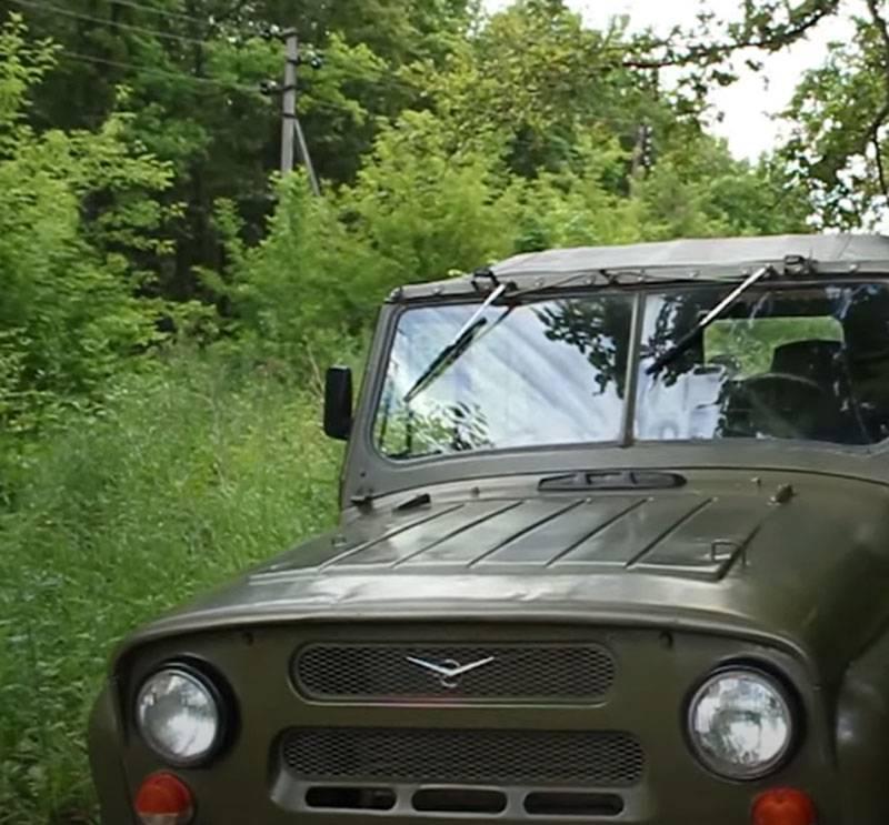 在乌克兰,为乌克兰武装部队尝试用新型SUV取代陆军UAZ时出现了困难