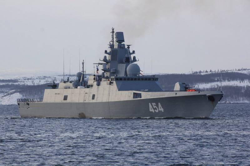 「アドミラル・ゴルシュコフ」は極超音速の「ジルコン」をテストするために海に出ました