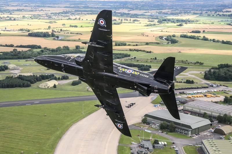 Un entraîneur Hawk T1 de la British Air Force s'écrase dans le sud-ouest de l'Angleterre