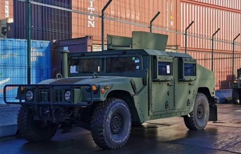 """""""SUVs Humvee"""": outro lote de ajuda militar americana chegou a Odessa"""