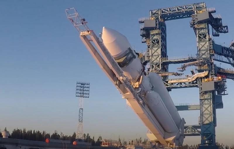 Роскосмос начал сборку серийных тяжёлых ракет-носителей «Ангара-А5» для Минобороны