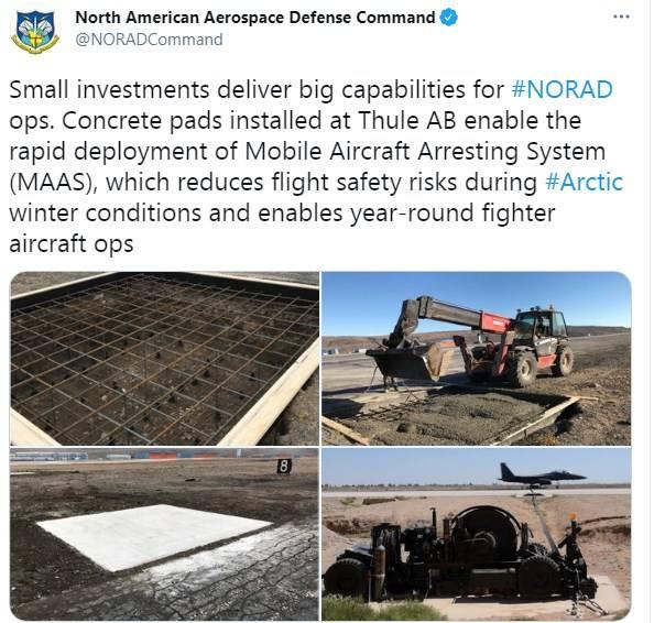 Neue NATO-Fähigkeiten in der Arktis: ganzjähriger Betrieb des Thule-Luftwaffenstützpunkts in Grönland
