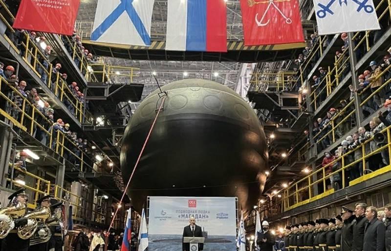"""La terza """"Varshavyanka"""" per la flotta del Pacifico è stata lanciata a San Pietroburgo"""