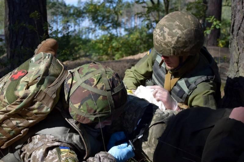 Киев обвинил ДНР в гибели четырех украинских военнослужащих