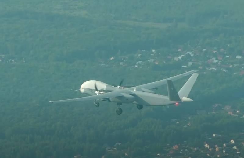 Разведывательно-ударный беспилотник «Альтиус-У» получил спутниковую связь
