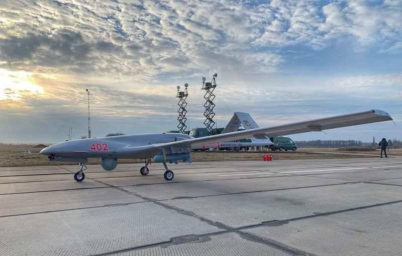ВМС Украины провели учения с применением ударных беспилотников Bayraktar TB2