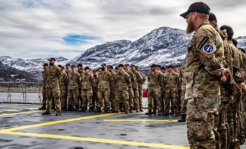 Минобороны Дании заявило о «российской угрозе» в Арктике и перечислило свои силы в Гренландии