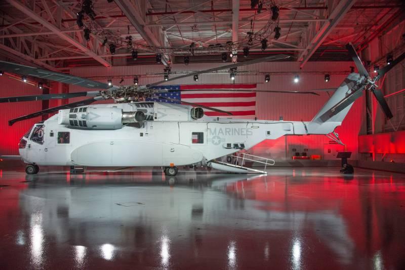 Будущее авиации КМП США. Тяжелый транспортный вертолет Sikorsky CH-53K King Stallion