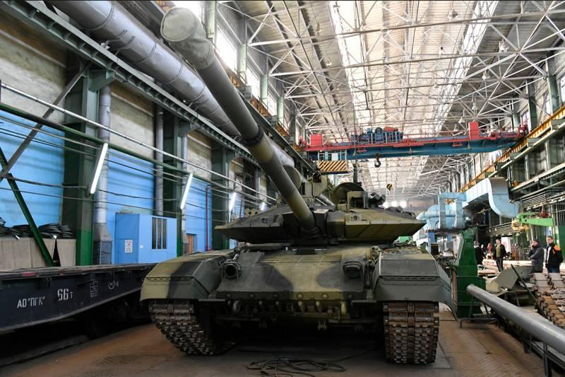 Промежуточные результаты производства танков Т-90М «Прорыв»