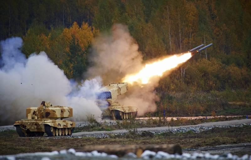 Перспективы развития отечественных тяжелых огнеметных систем