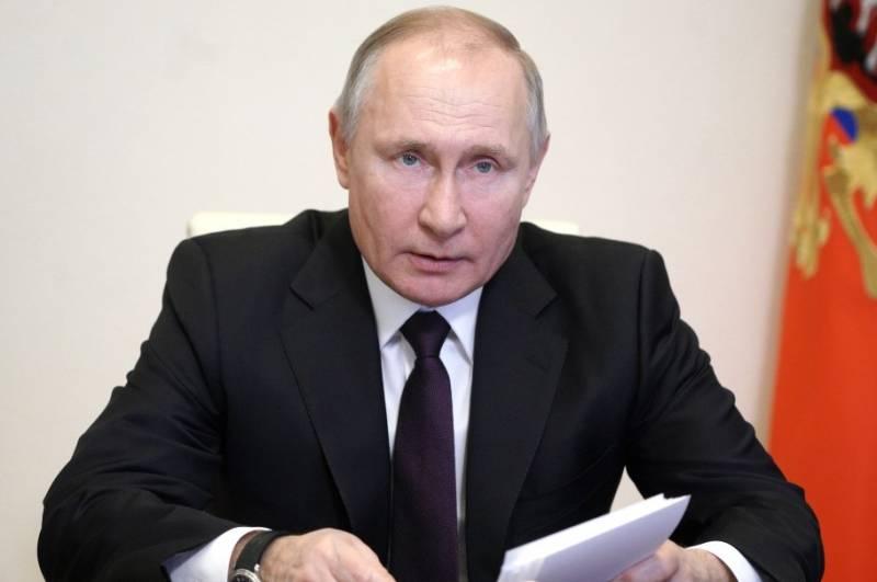 Путин: Прошлый год был худшим для экономики после окончания Второй мировой войны
