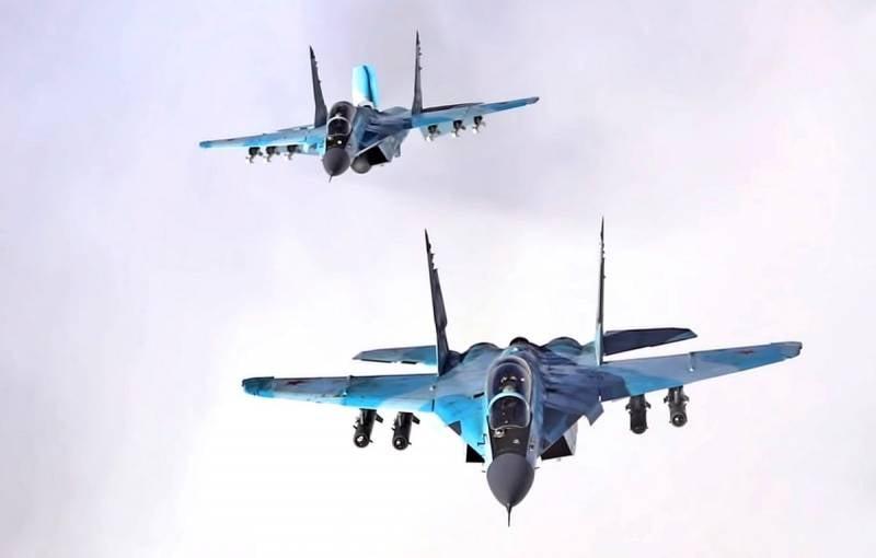 Партия многоцелевых истребителей МиГ-35С поступила на вооружение ВКС РФ