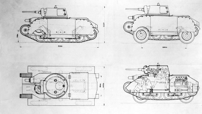 Недолгая история колесно-гусеничных танков Швеции