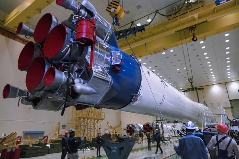 «В бело-синей гамме»: Ракете-носителю «Союз-2» поменяли дизайн
