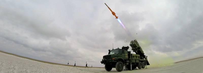 Турецкий ЗРК средней дальности Hisar-O идёт в серию