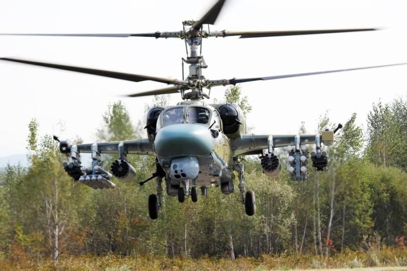 Ка-52 Аллигатор и AH-64D/E Apache с точки зрения вооружений