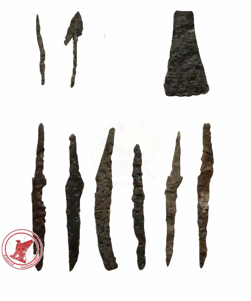 Стрелы Перуна. Вооружение славян VI–VIII вв.