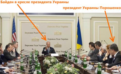 Biden na Ucrânia