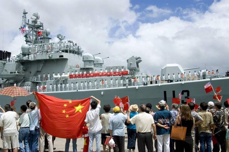 Дракон против орла. Сравнение флотов США и Китая