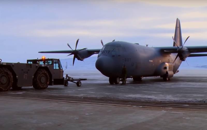 Новые возможности НАТО в Арктике: круглогодичная эксплуатация авиабазы Туле в Гренландии