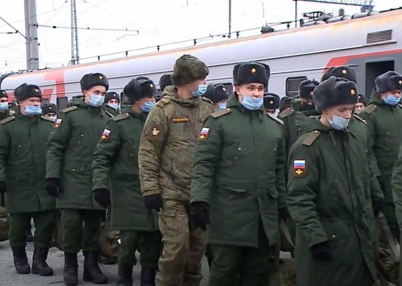 В России начинается весенний призыв на срочную военную службу