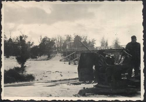 제 400 차 세계 대전 중 대공포, 내 dacha에서 XNUMXm