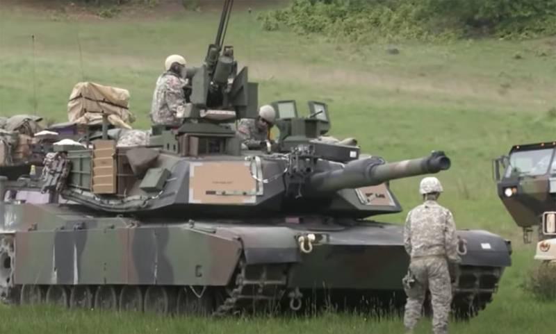 В прессе Германии рассказали, что на тренировках по переброске войск НАТО в Прибалтику несколько танков «застряли в туннеле»