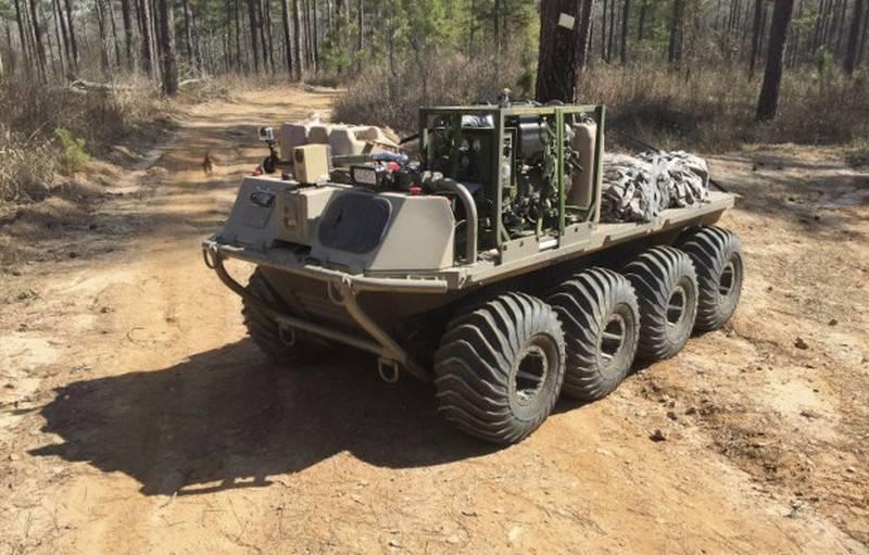 अमेरिकी सेना ने MUTT ग्राउंड पहिएदार रोबोट के अंतिम परीक्षणों की शुरुआत की