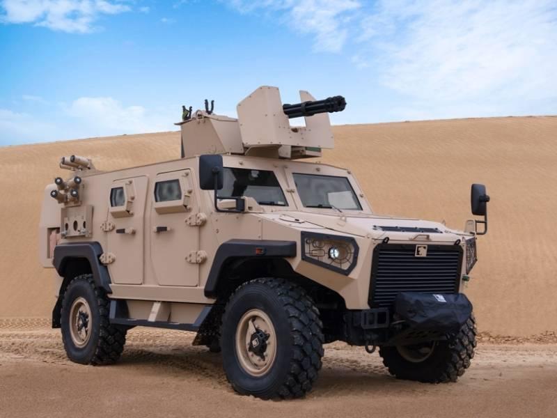 """La nueva cara del """"Tigre"""" árabe: Argelia prefirió los vehículos blindados de los Emiratos Árabes Unidos a los vehículos rusos."""