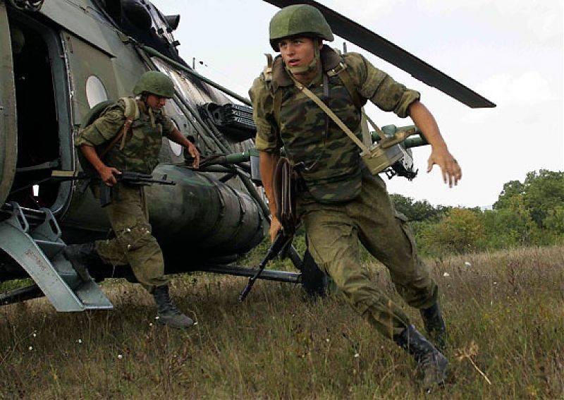 俄罗斯军队的现代联合武器防弹衣