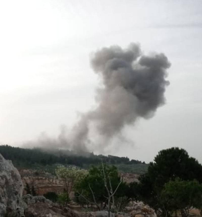 공습으로 시리아 남부 Idlib 지방에서 무장 세력의 활동이 억제되었습니다.