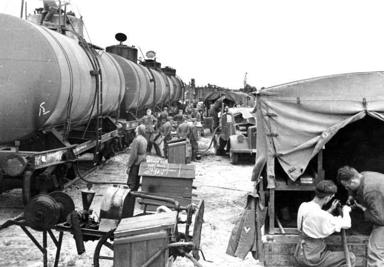 Petróleo alemán en el cambio de guerra