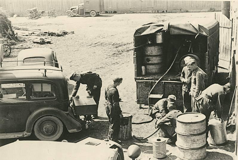 Немецкая нефть на переломе войны